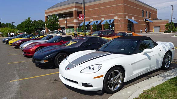 The Corvettes of the 2014 Woodward Dream Cruise