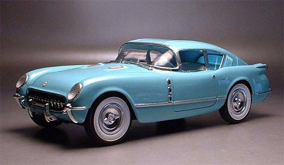 Donation of 1954 Corvair Motorama 1/25 Scale Model to Benefit the Chip Miller Charitable Foundation