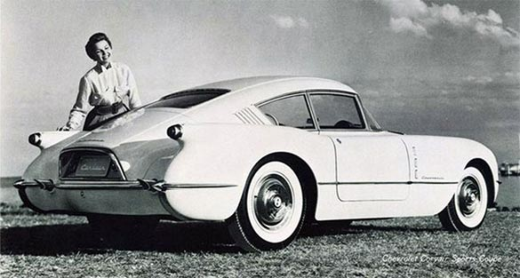 1954 GM Motorama Corvair Show Car
