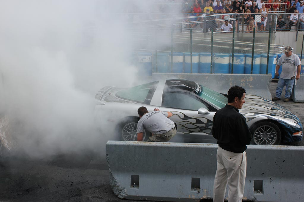 The Carlisle Burnout Contest Returns To
