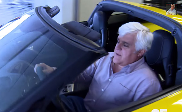 DVR ALERT: The 2015 Corvette Z06 is in Jay Leno's Garage Sunday Night on CNBC