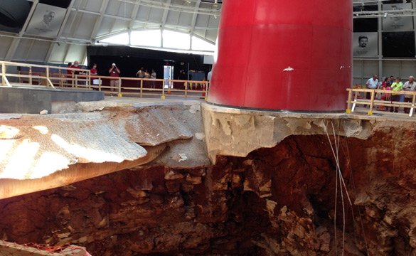 Corvette Museum to Fill Sinkhole and Restore the SkyDome