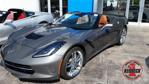 Kerbeck Compares the New 2015 Corvette's Shark Gray to Cyber Gray and Blade Silver