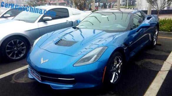 Corvette Stingrays Listed for Sale at over $280,000 in China's Gray Market