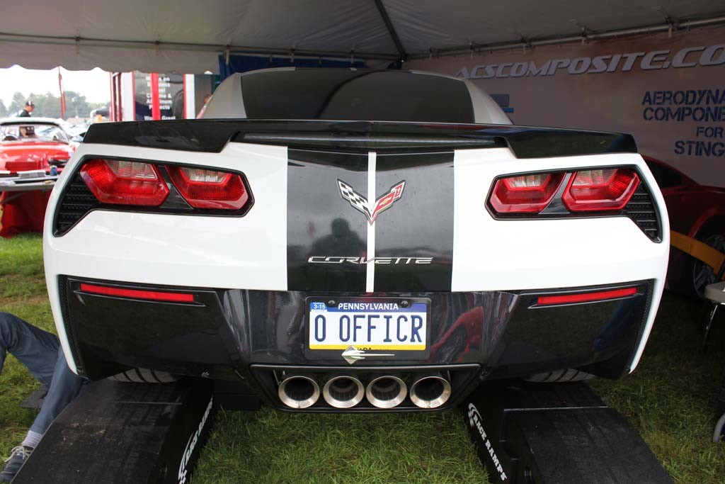 The Corvette Vanity Plates At Corvettes At Carlisle 2014