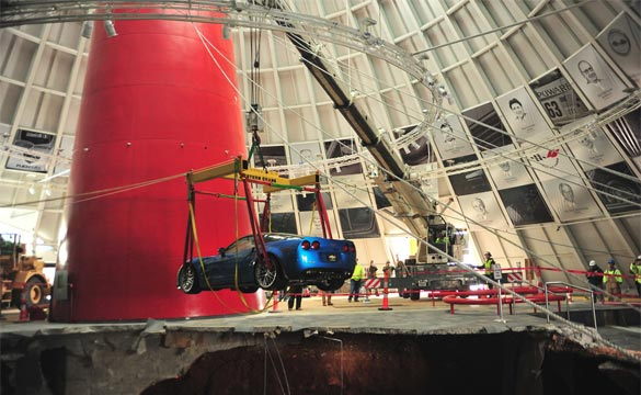 General Motors to Restore Three of the NCM Sinkhole Corvettes