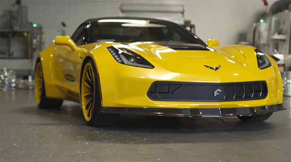 [VIDEO] Forgiato Introduces New Active Grille System for the C7 Corvette Stingray