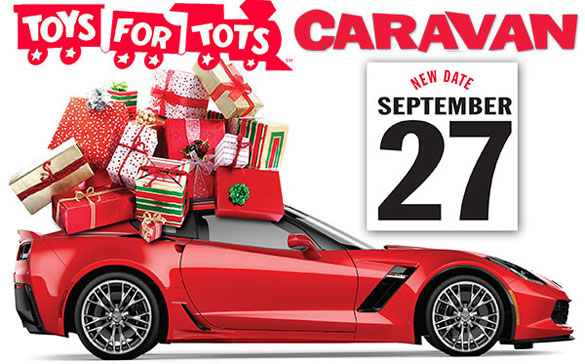 It's Time for Kerbeck Corvette's 11th Annual Toys for Tots Caravan