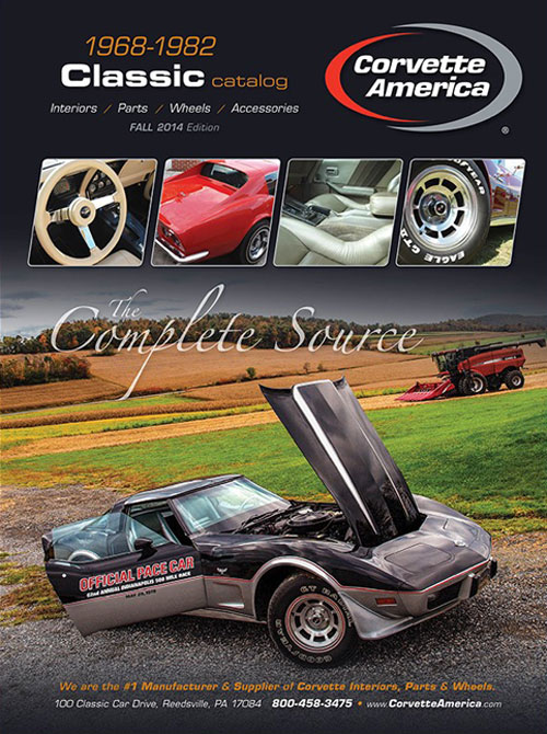 The New C3 Corvette Catalog from Corvette America is Now Available