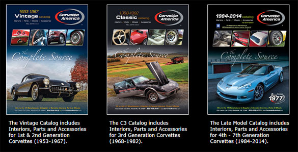Corvette America's Catalogs are Now Available