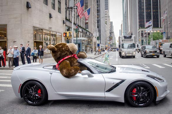 Chevrolet Makes a Special Delivery on National Teddy Bear Day for Kids with Cancer