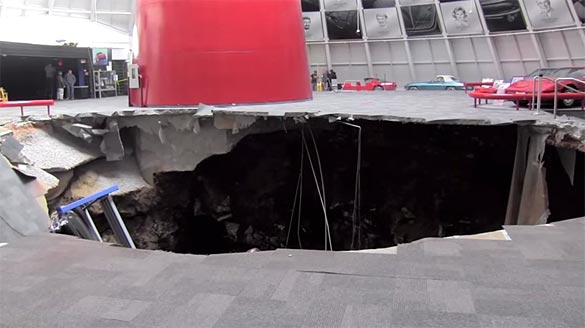 [VIDEO] Corvette Museum Now Offering a DVD Documentary on the SkyDome Sinkhole