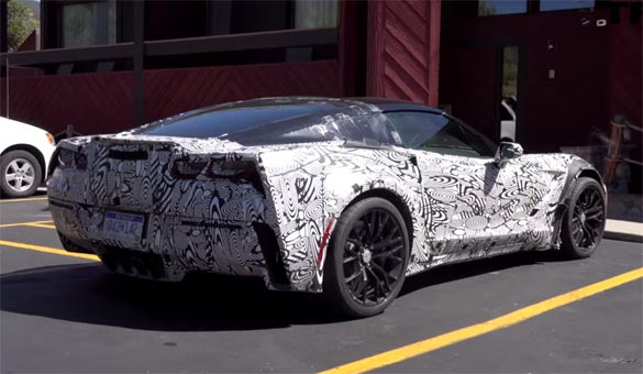 [VIDEO] C7 Corvette Z06 Prototypes Caught Testing in Colorado
