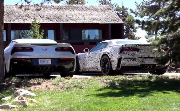 C7 Corvette Z06 Prototypes Caught Testing in Colorado