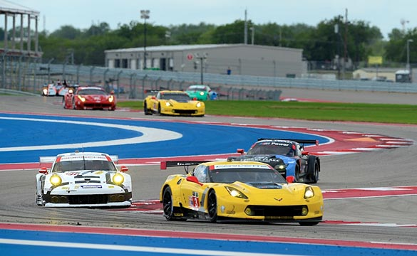 Corvette Racing at COTA: C7.Rs Finish Ninth and Tenth in GTLM