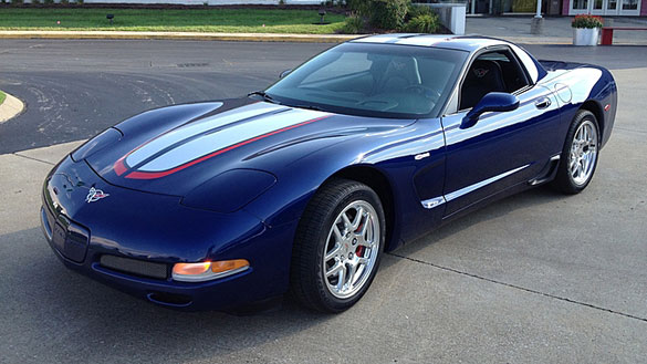 First Production 2004 Z06 Le Mans Commemorative Edition to Cross the Block at Mecum's Chicago Auction