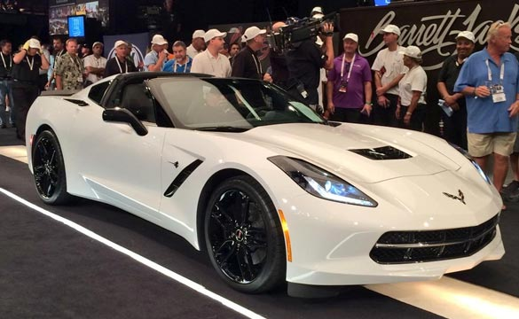 2015 Corvette Stingray with VIN 001 Raises $400,000 for Charity at Barrett-Jackson