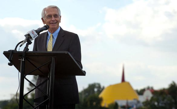 Kentucky's Governor Beshear Helps Open the NCM Motorsports Park