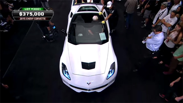 [VIDEO] Here is the 2015 Corvette Stingray VIN 001 Auction at Barrett-Jackson