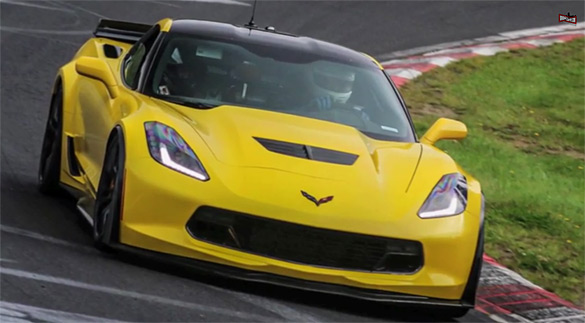 [VIDEO] 2015 Corvette Z06 Spotted Testing at the Nurburgring