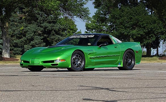 1997 'Green Slime' Mallett Corvette to be Star Attraction at Mecum's Chicago Auction