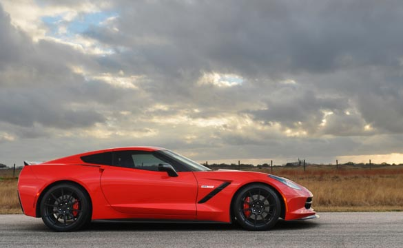 Corvettes on eBay: 2014 Hennessey HPE650 Corvette Stingray Build No.001