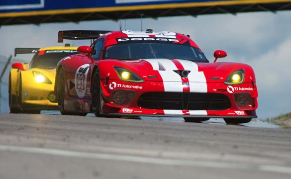 Chrysler Ends the SRT Viper Racing Program in IMSA's Tudor USCC