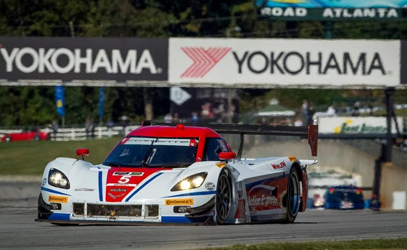 Chevrolet Wins TUDOR Championship Prototype Engine Manufacturer Title