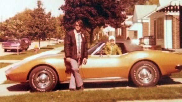 Detroit Man Tracks Down and Buys His Late Father's 1973 Corvette