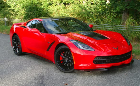 [PICS] Callaway Delivers a Torch Red SC627 Corvette Stingray