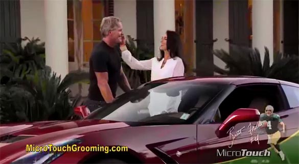 [VIDEO] Corvette Stingray Shows Up at the End of the New Brett Favre Commercial