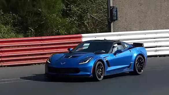 Chevy Debunks Report of a Corvette Z06 Lapping Nurburgring in 6:59.13