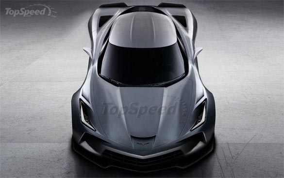 Top Speed Renders the Mid Engine Corvette ZORA ZR1