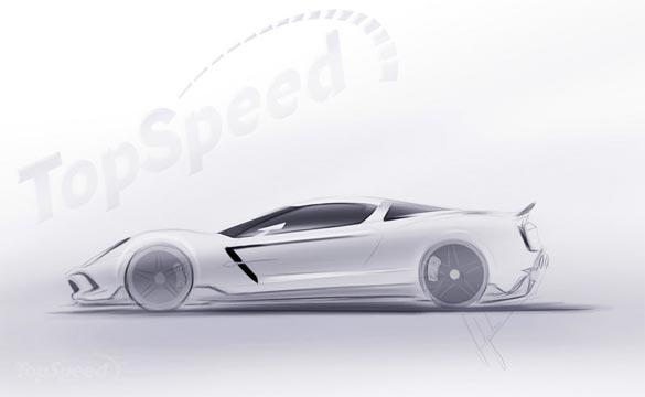 [PIC] Top Speed Renders the Mid Engine Corvette ZORA ZR1