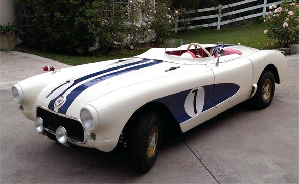 Junior Replicas' 1956 Corvette is a 2/3 Replica Go-Kart of The Real McCoy