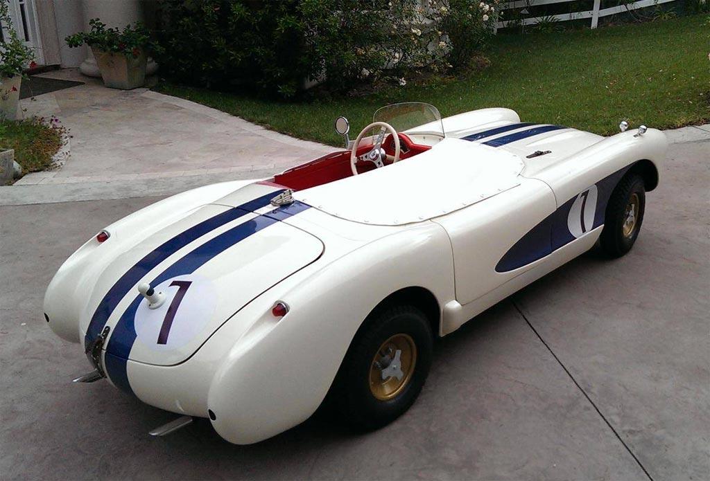 Junior Replicas' 1956 Corvette is a 2/3 Replica Go-Kart of