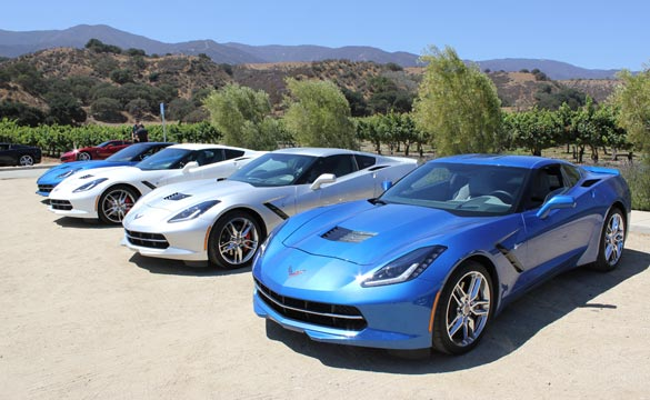 2014 Corvette Stingray Production Statistics
