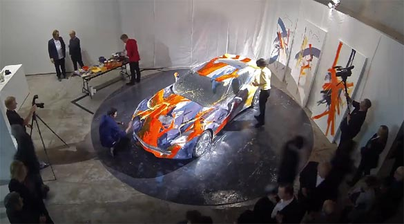 [VIDEO] Corvette Stingray Canvas: Performance Art Car at the MOCAD
