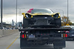 [PICS] Damaged 2015 Corvette Z06 Spotted on a Flatbed in Chicago