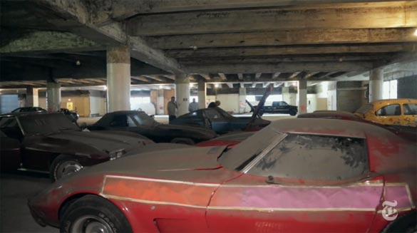 [VIDEO] Peter Max Corvette Collection to be Sold at Auction