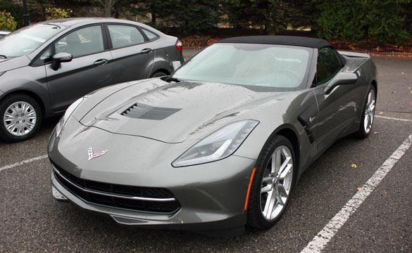 Autoblog Names the 2015 Corvette Stingray as a Finalist for its 2014 Technology of the Year Award