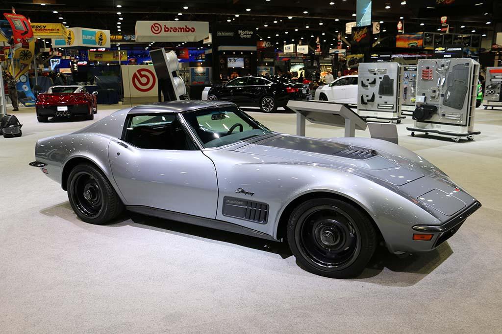 Pics The 1971 Jimmie Johnson Lt1 Corvette Concept At