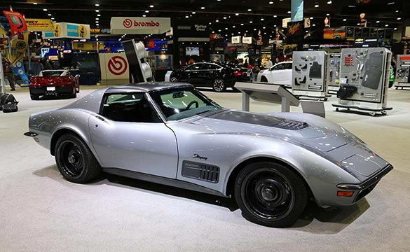 [PICS] The 1971 Jimmie Johnson LT1 Corvette Concept at SEMA