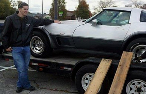 Man Reunited with his Dad's 1978 Corvette After a 15 Year Search