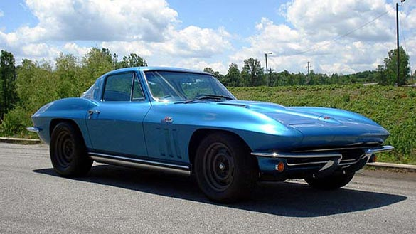 1965 Bonneville Class Record Holding Corvette Heading to Mecum Anaheim