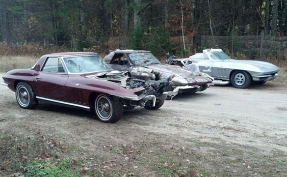 Corvettes on eBay: Package Deal of 11 Project C2 Corvette