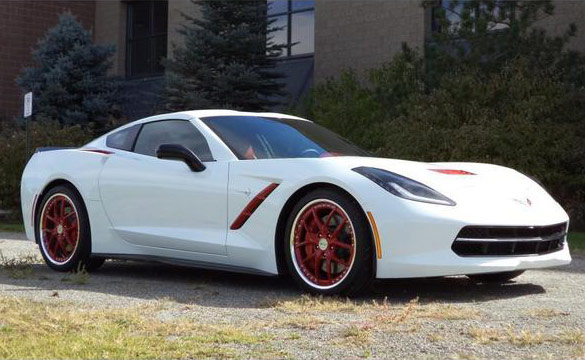 Corvette Sales Spotlight: Another Custom Corvette Stingray from Purifoy Chevrolet