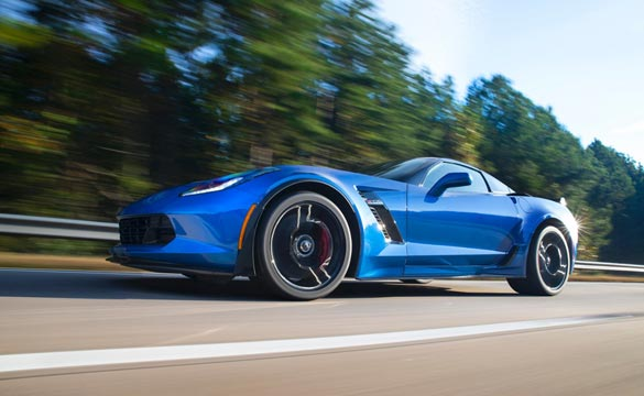 2015 Corvette Z06 Fuel Economy Rating is 23 MPG Highway, 13 MPG City