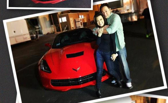 [PIC] Husband Surprises Agents of SHIELD Actress with a Corvette Stingray