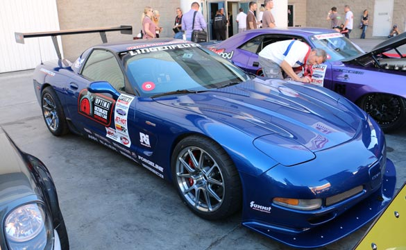 Danny Popp and his 2003 Corvette Z06 Wins the 2014 Ultimate Street Car Invitational